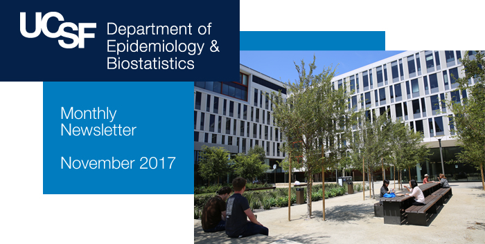 Department of Epidemiology & Biostatistics Newsletter